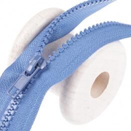 Fermeture à glissière séparable - Bleu