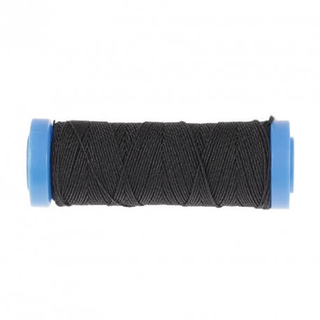 Fil élastique fin 20m noir
