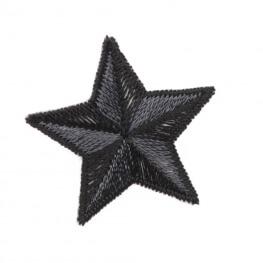 Ecusson étoile - Noir