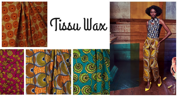 Collection Tissu wax - éthnique